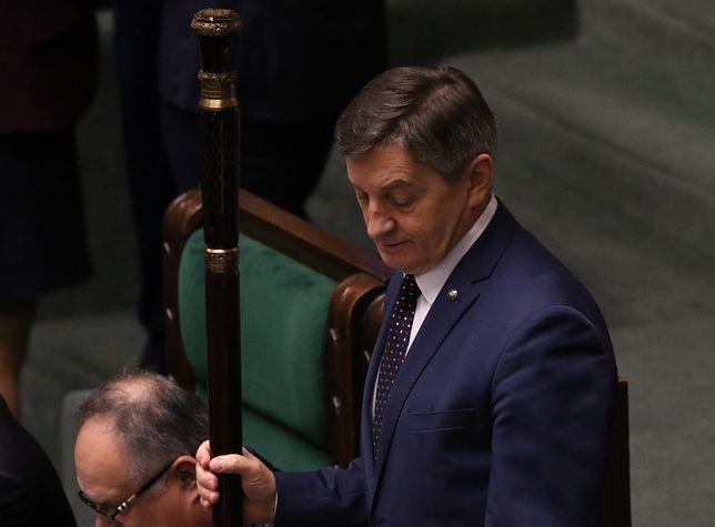 Marszałek Sejmu Marek Kuchciński chce uporządkować obrady