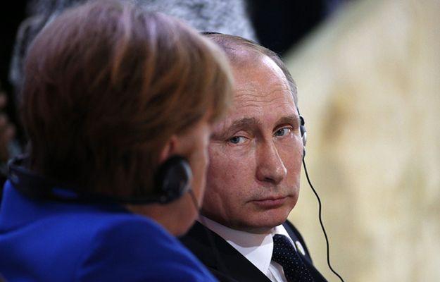 Angela Merkel, Władimir Putin