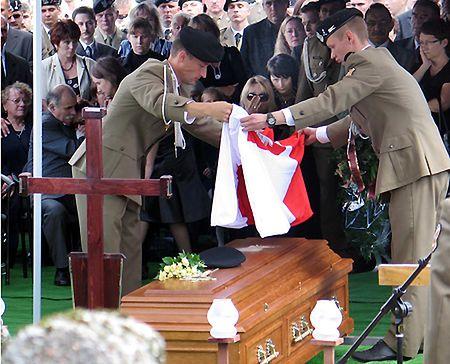 W Lusowie spoczął żołnierz zabity w Afganistanie