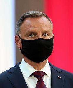 """Andrzej Duda w TVP Info. Ostro o Unii Europejskiej i """"nieodpowiedzialnej pani"""""""