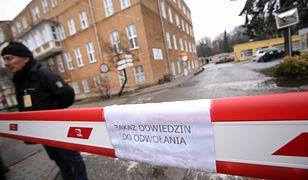 Do szczecińskiego szpitala nie są wpuszczane postronne osoby