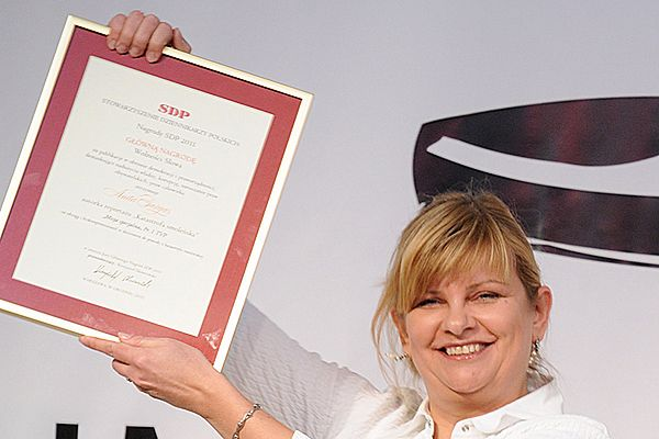Dziennikarka Anita Gargas została laureatką Głównej Nagrody Wolności Słowa
