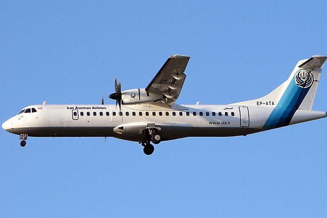 Samolot linii Aseman Airlines rozbił się w Iranie