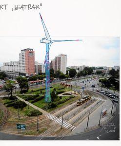 Rondo de Gaulle'a ma palmę, a Grochów będzie miał ogromny wiatrak. Urzędnicy są na tak