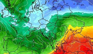 Pogoda. Zmiana w prognozach. Arktyczny chłód i -2 st. C (wxcharts.com/screen)