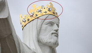 Jezus ze Świebodzina to jeden z bardziej znanych polskich pomników. Ma aż 36 metrów wysokości