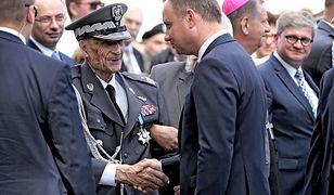 Gen. Ścibor-Rylski do młodych: szczęście, że nie wiecie, co to znaczy przelewać krew o wolność