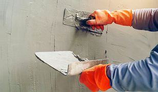 Tynk gipsowy różni się od tynku cementowo-wapiennego