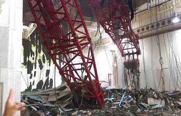 Na Wielki Meczet w Mekce runął dźwig. 62 osoby nie żyją
