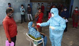 Koronawirus na świecie. Padł rekord liczby nowych zakażeń