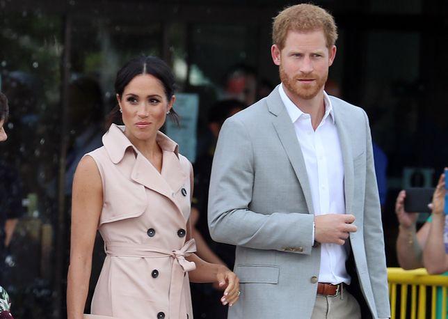 Meghan Markle i książę Harry odłączyli się od rodziny królewskiej
