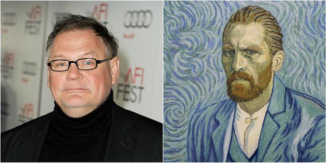 """Od lewej: Janusz Kamiński i film """"Twój Vincent"""""""