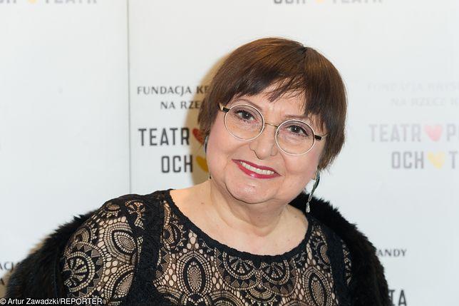 Krystyna Tkacz występuje w popularnych serialach i Teatrze Ateneum w Warszawie