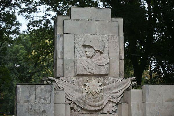 Pomnik Wdzięczności Armii Radzieckiej w warszawskim Parku Skaryszewskim