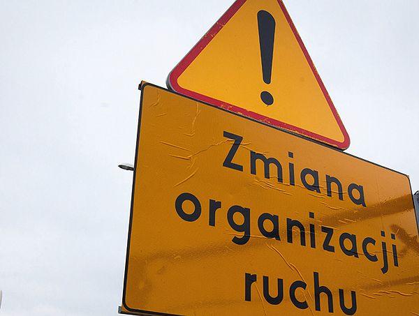 Utrudnienia drogowe w Krakowie