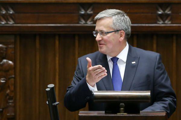 Mariusz Błaszczak: Bronisław Komorowski prowadzi kampanię wyborczą