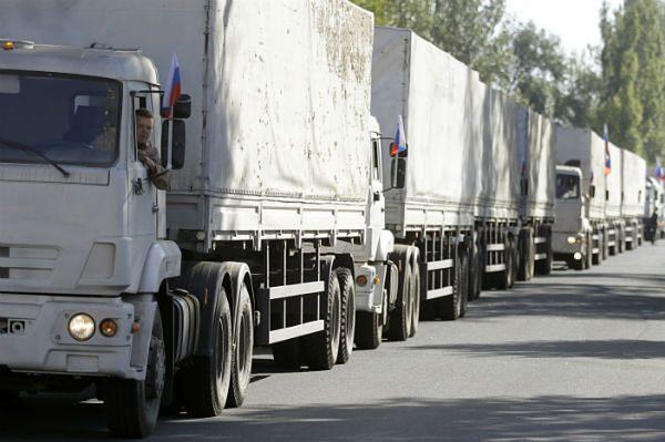 Kolejny rosyjski konwój z pomocą humanitarną już w Ługańsku
