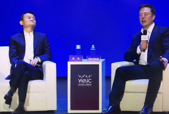 Elon Musk i Jack Ma: potentaci technologiczni spierają się o przyszłość sztucznej inteligencji