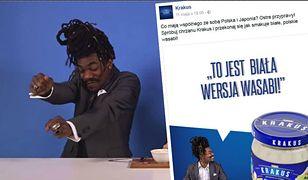 Kontrowersyjna reklama chrzanu Krakus. Internauci: to jest rasizm! Mamy odpowiedź firmy