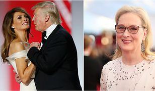 """Meryl Streep o molestowaniu seksualnym w Hollywood. """"Chcę, żeby Melania Trump przemówiła. Ma wiele istotnych rzeczy do powiedzenia"""""""