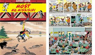 Lucky Luke. Most na Missisipi, Egmont 2020