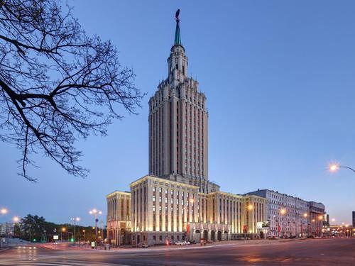 Budynek ten został zbudowany w latach 50. ubiegłego wieku