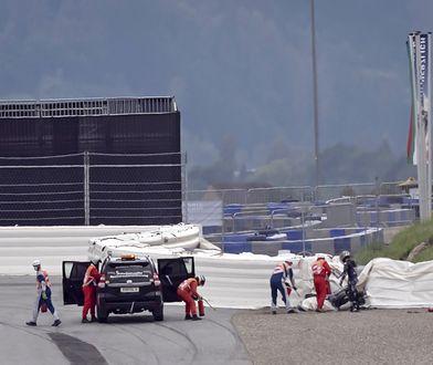 Wypadek Mavericka Vinalesa na GP Styrii. Przestały działać hamulce