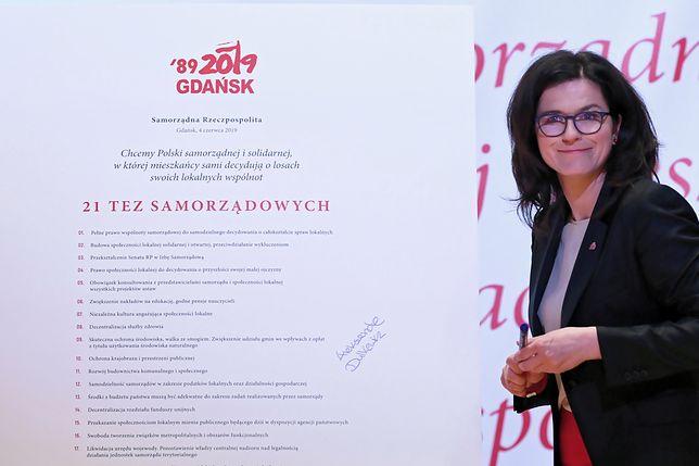 Aleksandra Dulkiewicz przyjęła zaproszenie od premiera Mateusza Morawieckiego. Spotkają się we wtorek