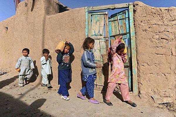 Dzieci w Afganistanie