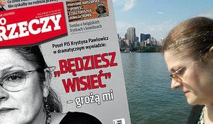 """""""Będziesz wisieć"""". Krystyna Pawłowicz narzeka na hejt w """"dramatycznym"""" wywiadzie"""