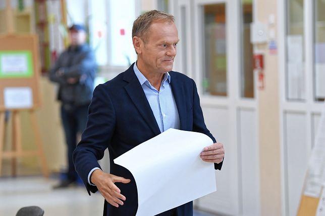 Donald Tusk przerwał milczenie. Skomentował wynik wyborów do Europarlamentu