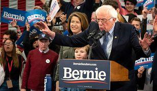 USA. Wybory prezydenckie 2020. Bernie Sanders wygrywa prawybory w New Hampshire