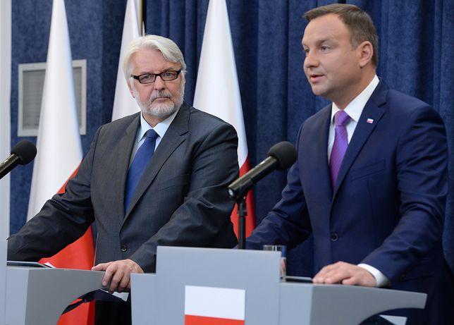 Białoruś i strategia Polski. Witold Waszczykowski o apelu opozycji o zwołaniu RBN