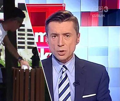 Miękkie lądowanie dziennikarza TVP. Po aferze łatwo znalazł pracę