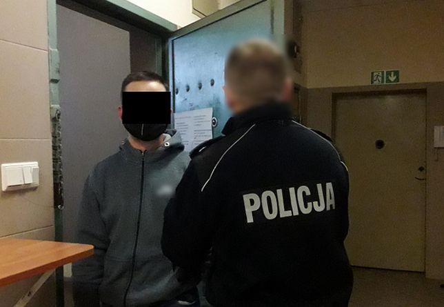 Warszawa. 34-latek ukradł ze sklepu słodycze
