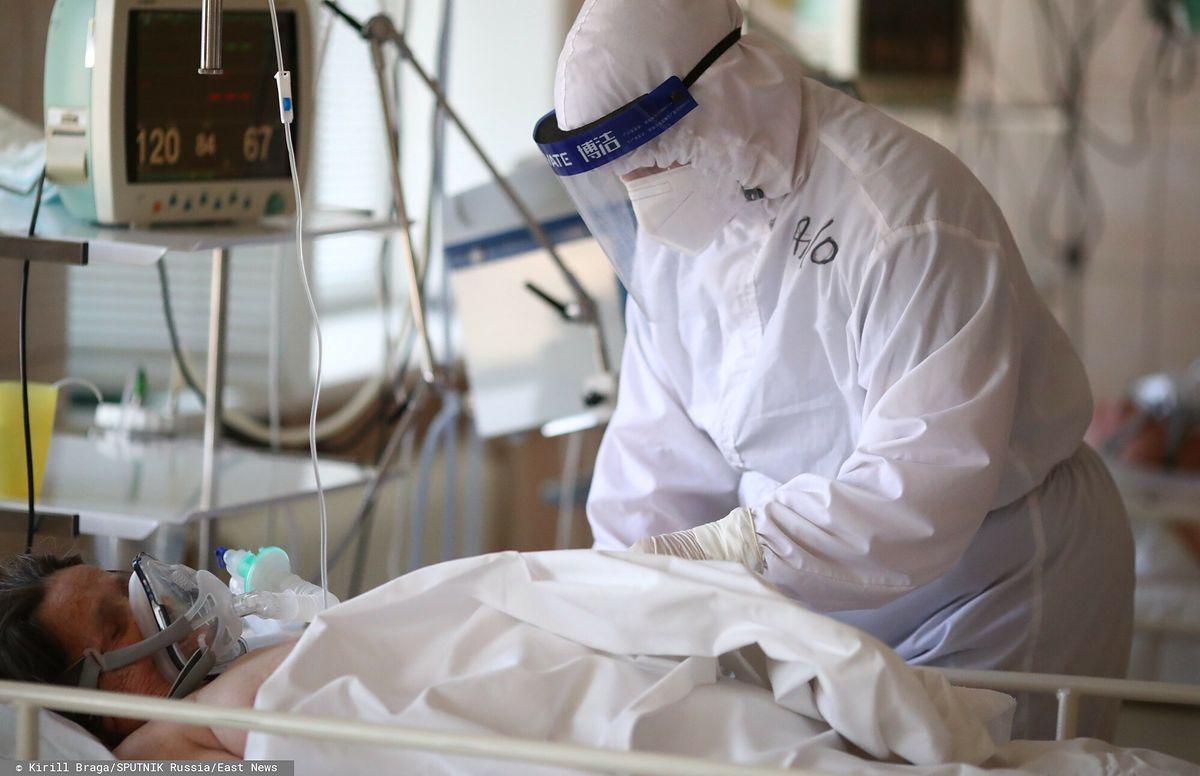 Wzrósł odsetek zaszczepionych pacjentów z koronawirusem na oddziałach intensywnej terapii