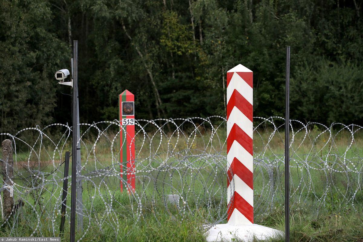 Mur na granicy polsko-białoruskiej. Sejm zdecydował. Zdjęcie sprzed wprowadzenia stanu wyjątkowego