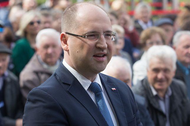 Adam Bielan broni Jarosława Kaczyńskiego