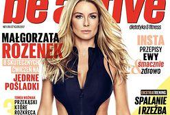 """Małgorzata Rozenek na okładce """"Be Active"""". Nie przypomina samej siebie?"""