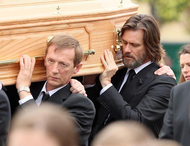 Jim Carrey bardzo przeżył stratę ukochanej