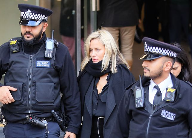 Caroline Flack oskarżona o napaść na chłopaka