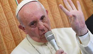 Franciszek komentuje nie wypełnienie testamentu Jana Pawła II
