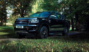 Ford Ranger Black Edition - najpopularniejszy pick-up w mrocznej odsłonie