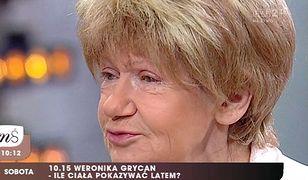 """Maria Czubaszek: Pokazała nową twarz w """"Pytaniu na śniadanie""""! Wygląda młodziej?"""
