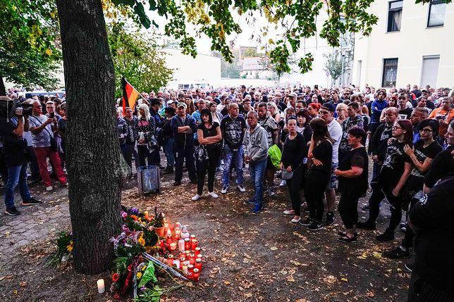 Demonstracja w niemieckim Koethen