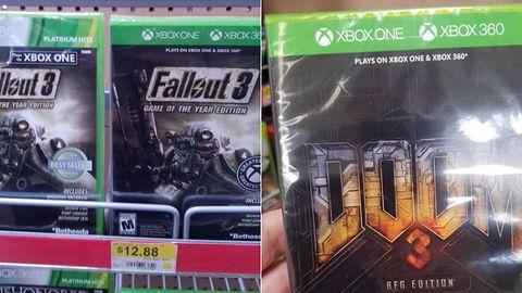 Nie zdziwicie się, jak znajdziecie w sklepie pudełkowego Dooma 3 albo Fallouta 3 na Xboksa One