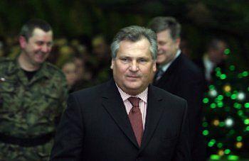 Prezydent Aleksander Kwaśniewski