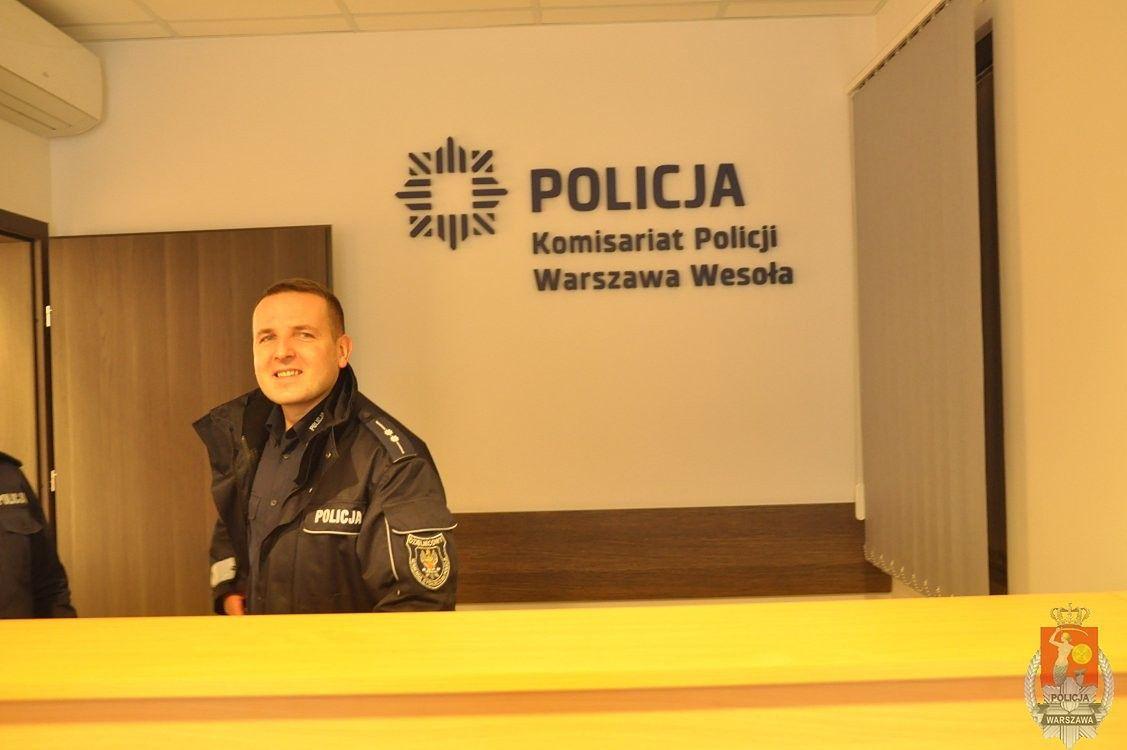 Nowy komisariat w Wesołej