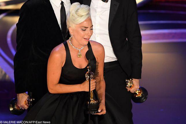Lady Gaga nie mogła powstrzymać łez na Oscarach. Poruszająca przemowa