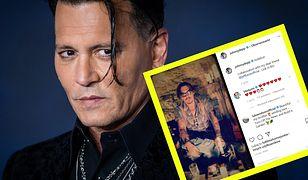 Johnny Depp rozpoczął swoją przygodę z Instagramem w niecodzienny sposób